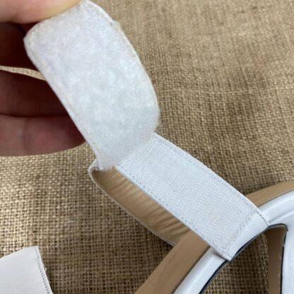 bottega veneta terlik square toe beyaz