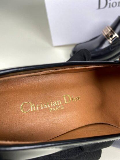christian dior ayakkabi loafer siyah hakiki deri