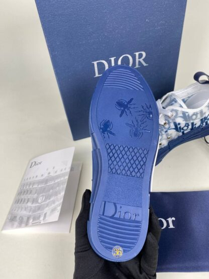 christian dior ayakkabi sneaker triple s beyaz mavi ithal