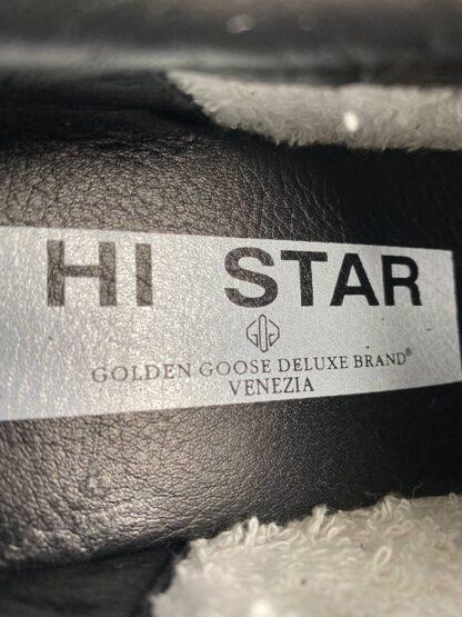 golden goose ayakkabi sneaker kadin siyah silver ithal