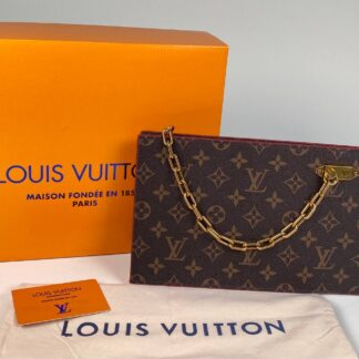 louis vuitton canta portfoy clutch ithal