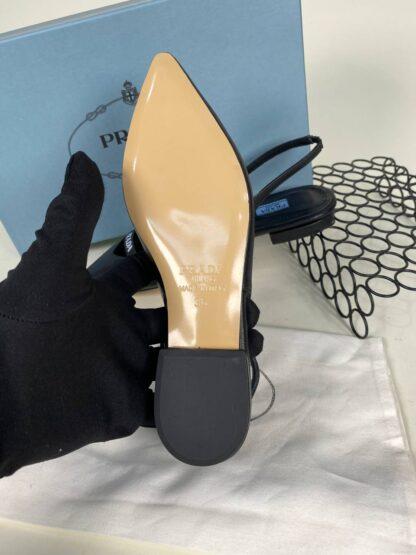 prada ayakkabi babet siyah