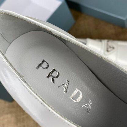 prada ayakkabi derby laced beyaz topuk 4 cm