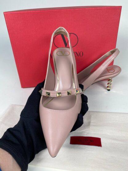 valentino ayakkabi topuklu pumps pudra 6cm
