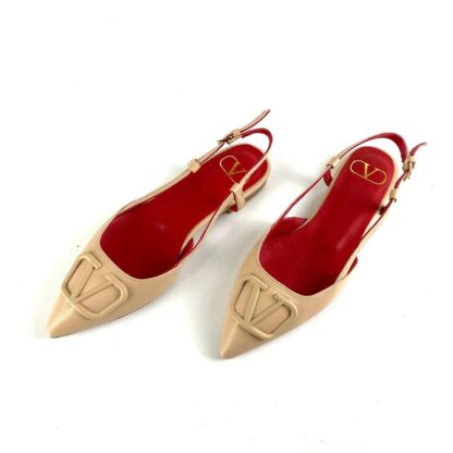 valentino ayakkabi topuklu vlogo garavani babet