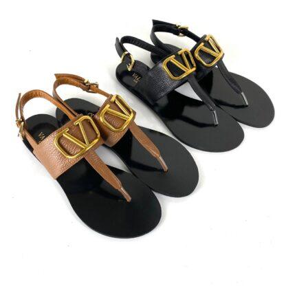 valentino terlik vlogo mule sandals siyah sandalet