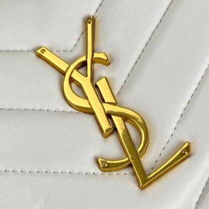yves saint laurent canta loulou medium beyaz 32x22 cm