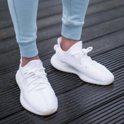 adidas ayakkabi sneakers yeezy 350 beyaz ithal