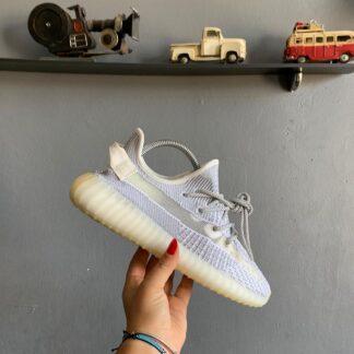 adidas ayakkabi sneakers yeezy 350 duz gri ithal