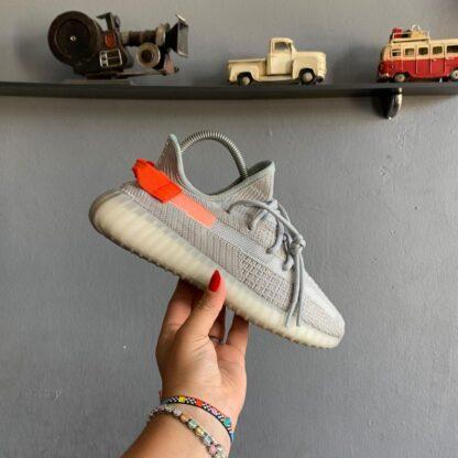 adidas ayakkabi sneakers yeezy 350 gri ithal
