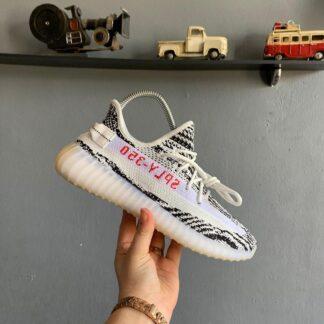 adidas ayakkabi sneakers yeezy 350 siyah cizgili ithal