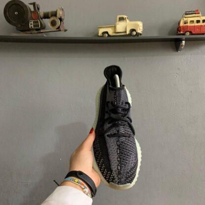 adidas ayakkabi sneakers yeezy 350 siyah gri ithal