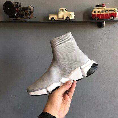 balenciaga ayakkabi sneakers speed2 gri ithal