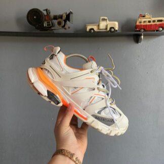 balenciaga ayakkabi sneakers track beyaz turuncu yeni sezon ithal