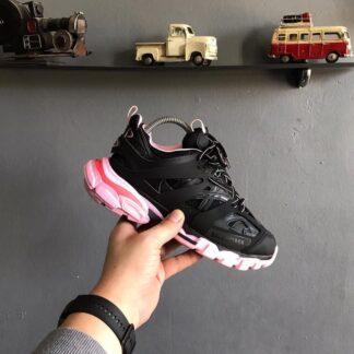 balenciaga ayakkabi sneakers track siyah pembe yeni sezon ithal