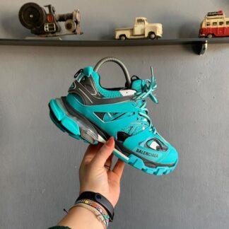 balenciaga ayakkabi sneakers track yesil yeni sezon ithal