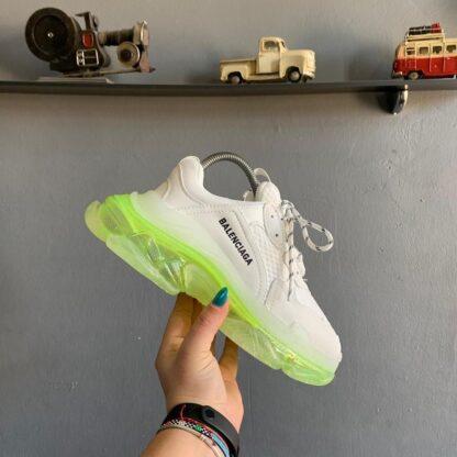 balenciaga ayakkabi sneakers triples beyaz ithal