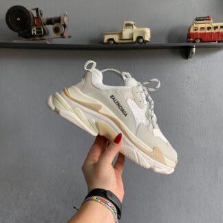 balenciaga ayakkabi sneakers triples gri ithal