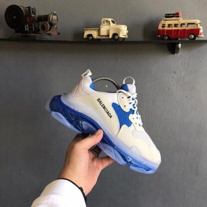 balenciaga ayakkabi sneakers triples mavi ithal
