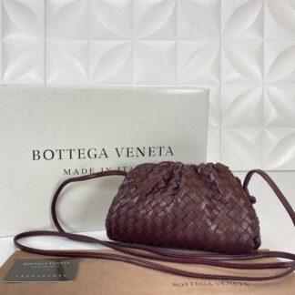 bottega veneta canta deri the pouch mini boy bordo 22x12 cm orgulu