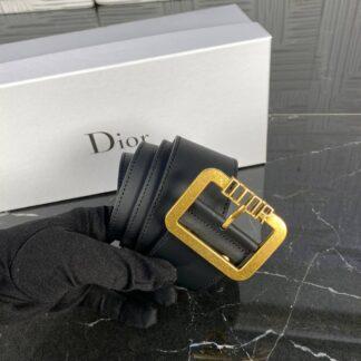 christian dior kemer siyah antik gold toka 5 cm ithal