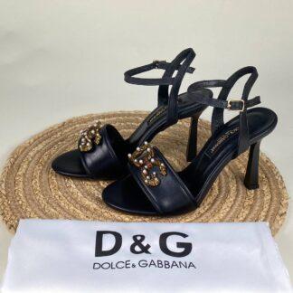 dolce gabbana ayakkabi siyah topuklu ithal