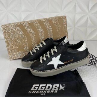 golden goose ayakkabi sneakers erkek siyah beyaz ithal