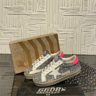 golden goose ayakkabi sneakers silver simli ithal