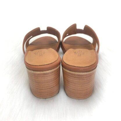 hermes terlik oasis topuklu terlik taba topuk 6 cm