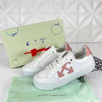 off white ayakkabi beyaz pembe sneakers ithal
