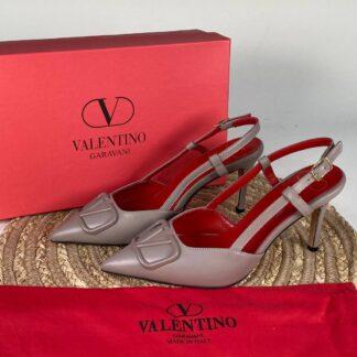 valentino ayakkabi topuklu vlogo vizon kirmizi ithal
