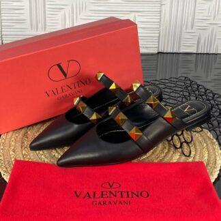 valentino terlik garavani rockstud siyah