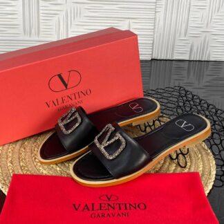valentino terlik garavani siyah tasli hakiki deri ithal