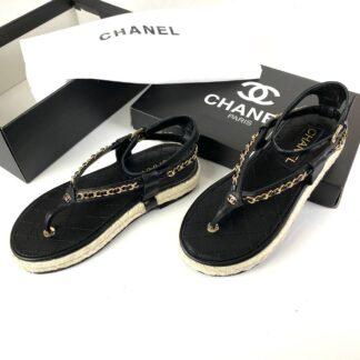 chanel terlik sandalet cruise siyah rahat kalip