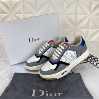 christian dior ayakkabi sneakers gri beyaz mavi ic dis deri