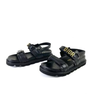 christian dior terlik sandalet act siyah