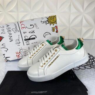 dolce gabbana ayakkabi sneakers beyaz nappa