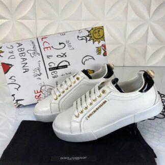 dolce gabbana ayakkabi sneakers beyaz siyah nappa