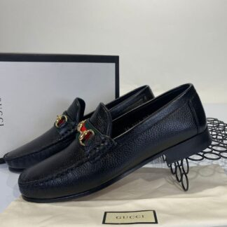 gucci ayakkabi erkek loafer siyah