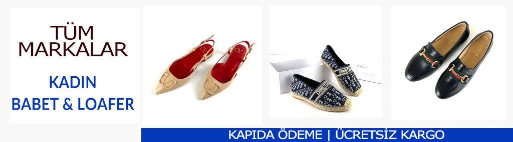 kadin marka yeni moda babet loafer ayakkabilar