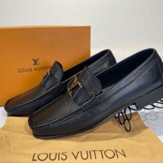 louis vuitton ayakkabi erkek loafer siyah