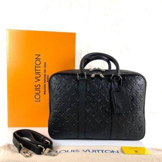 louis vuitton canta siyah monogram icare travel evrak laptop 39x29x14 cm