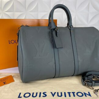 louis vuitton valiz gri ithal keepall bandouliere 45 cm