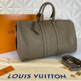 louis vuitton valiz vizon ithal keepall bandouliere 45 cm