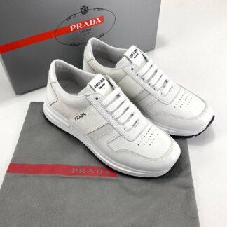 prada ayakkabi beyaz deri sneakers cloudbust