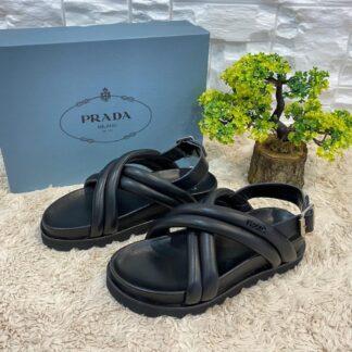 prada terlik siyah yeni sezon sandalet ithal