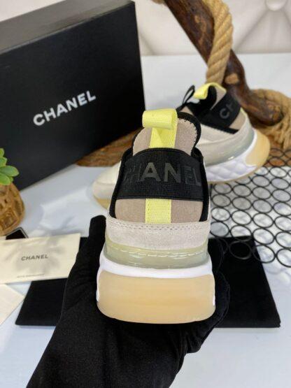 chanel ayakkabi sneakers bej ithal premium