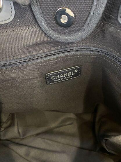 chanel canta shopping incili siyah 40x32 cm ithal