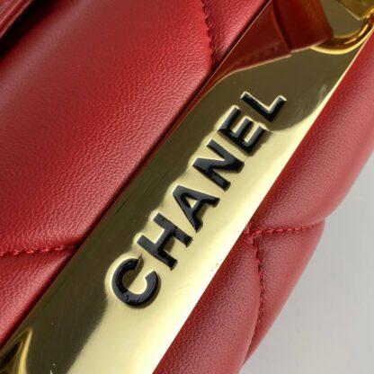 chanel canta trendy coco kirmizi gold aksesuar 26x20 cm