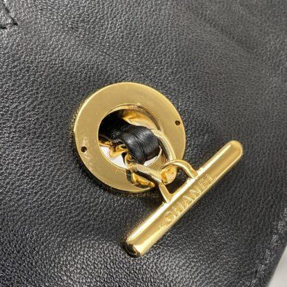 chanel canta trendy coco siyah gold aksesuar 26x20 cm